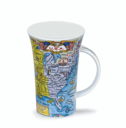 Dunoon Bone china Glencoe The USA mug