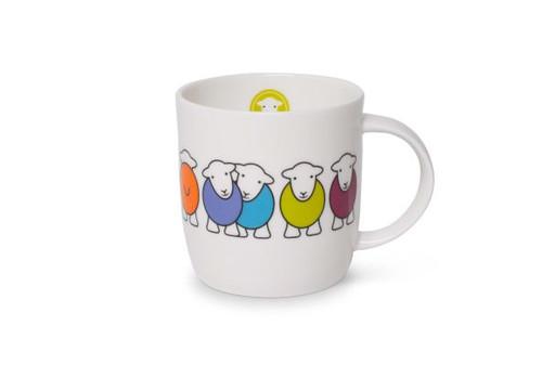 herdy Marra bone china mug, made in England.