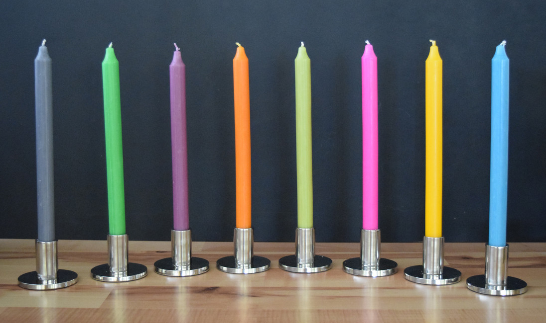 ​How to get the best from your tapered candles