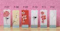 FLATYZ Decorative Flat Candles - Flower Collection II ($9.75 Each)