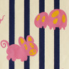 Gift Wrap - Petz - Cream/Navy/Pink