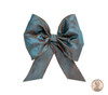 Couture Bow Topper - Blue Suede