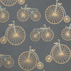Bicycles – Gray/Gold & Cream Metallic