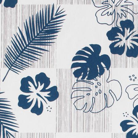 Gift Wrap - Tropics - White
