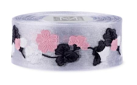 Garland Cherry Blossom Ribbon - Sterling