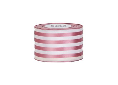 Ascot Ribbon - Rose/Cream