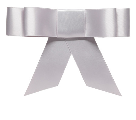 Layered Bow Topper - Sterling