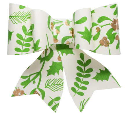 Paper Bow Topper - Mistletoe