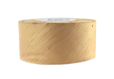 Dupioni Silk Ribbon - Caramel