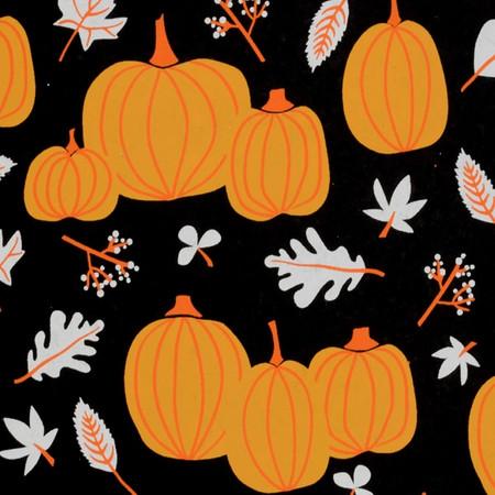 Pumpkins – Black/Orange/White