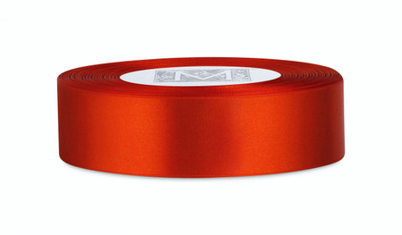 Double Faced Satin Ribbon - Mandarin