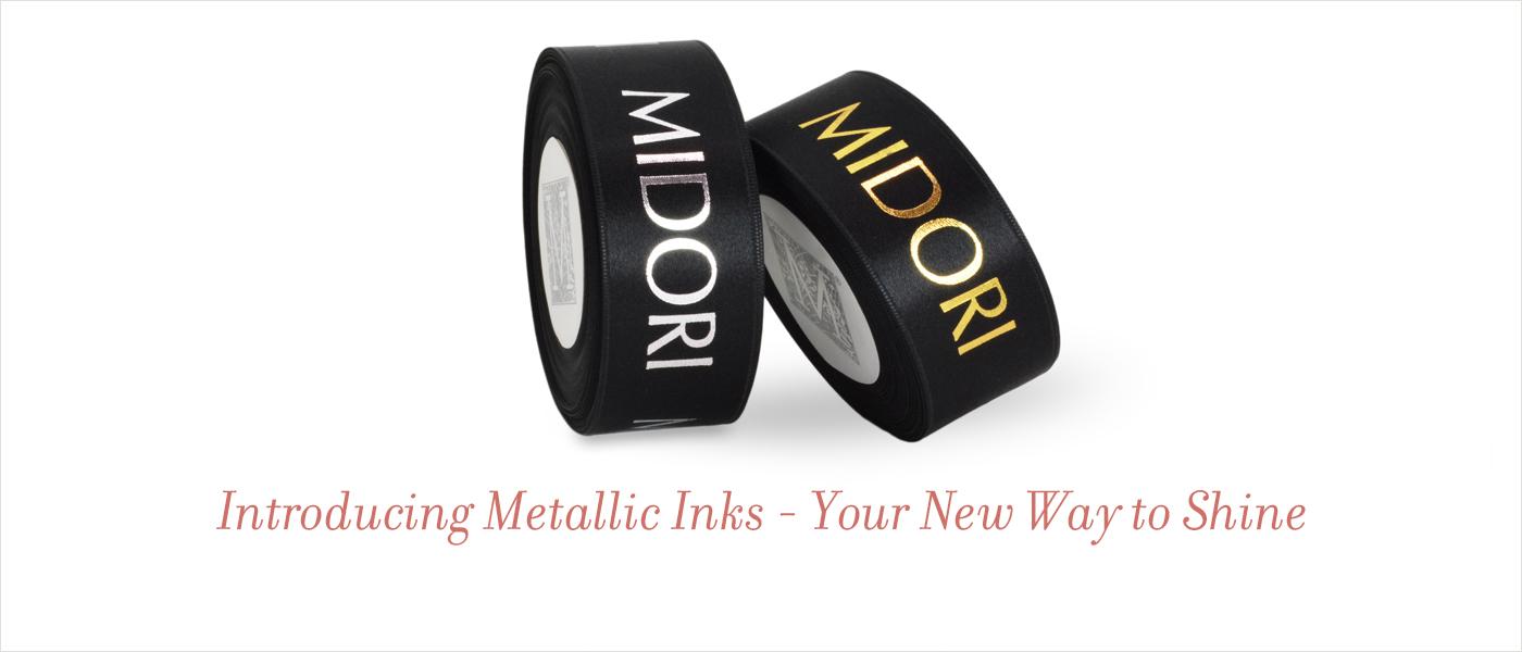 Metallic Inks for Ribbon printing