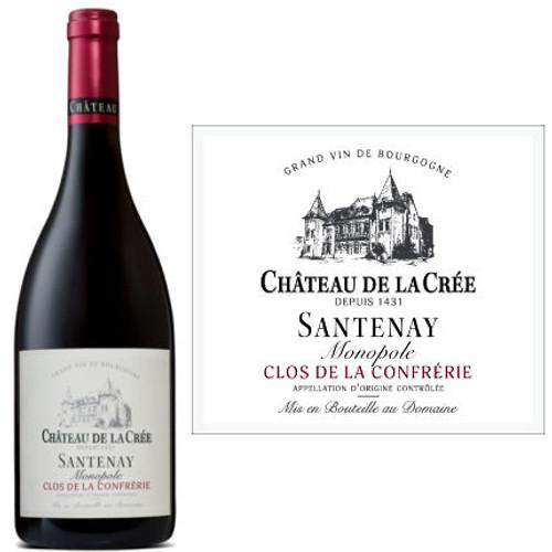 Chateau de la Cree Santenay Monopole Clos de la Confrerie Pinot Noir