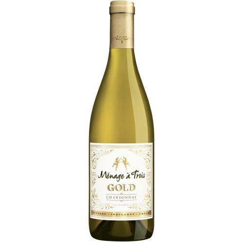Menage a Trois California Gold Chardonnay