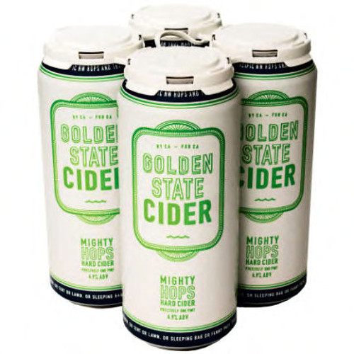Golden State Mighty Hops Hard Cider 16oz 4 Pack Cans