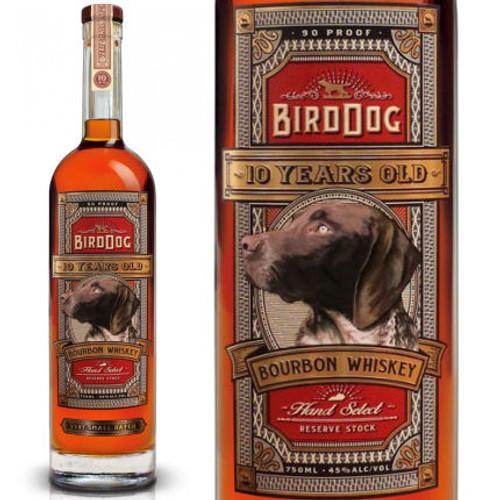 Bird Dog 10 Year Old Bourbon Whiskey 750ml