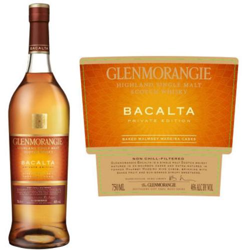 Glenmorangie Bacalta Private Edition Single Malt Scotch 750ml