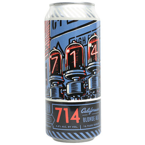 Bottle Logic 714 California Blonde Ale 16oz 4 Pack Cans
