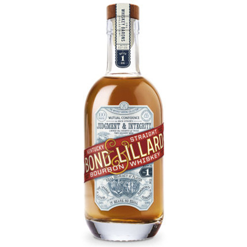 Bond & Lillard Kentucky Straight Bourbon Whiskey 375ml Half Bottle