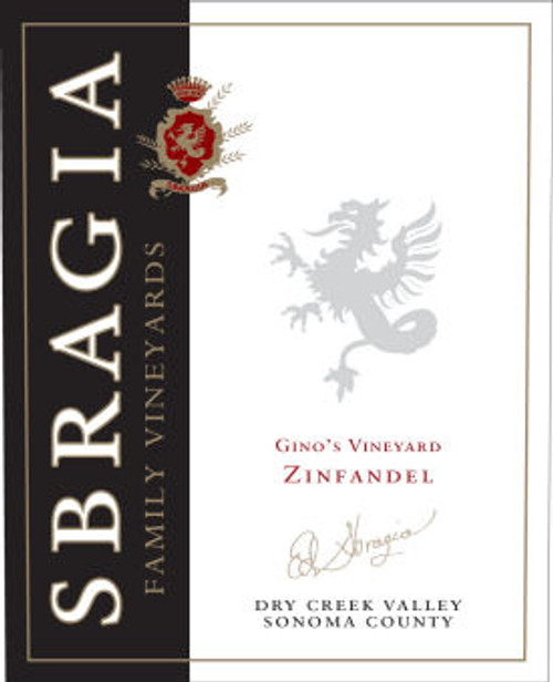 Sbragia Family Dry Creek Gino's Vineyard Zinfandel