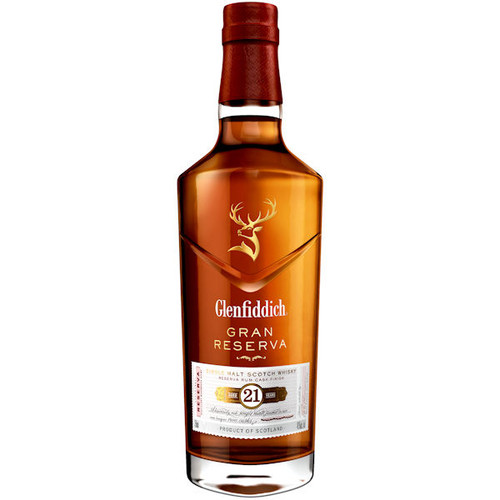 Glenfiddich Reserva Rum Cask Finish 21 Year Old Speyside Single Malt Scotch 750ml