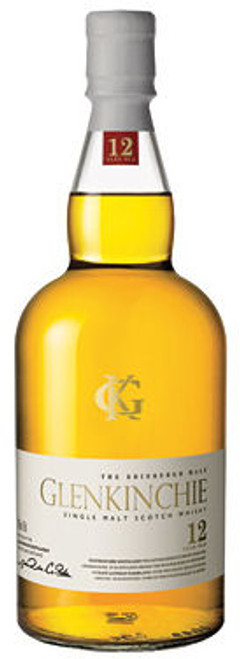 Glenkinchie 12 Year Old Lowland Single Malt Scotch 750ml