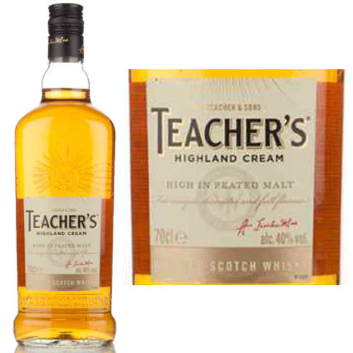 Teachers Highland Cream Scotch Whisky 750ml