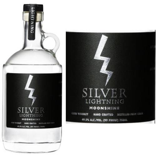 Silver Lightning Moonshine 750ml