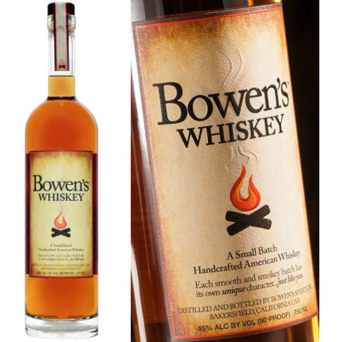 Bowen's Small Batch American Whiskey 750ml