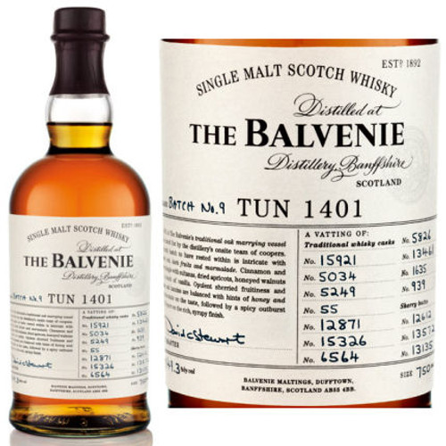 Balvenie Tun 1401 Batch 9 750ml