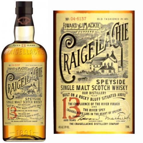 Craigellachie 13 Year Old Single Malt Scotch 750ml