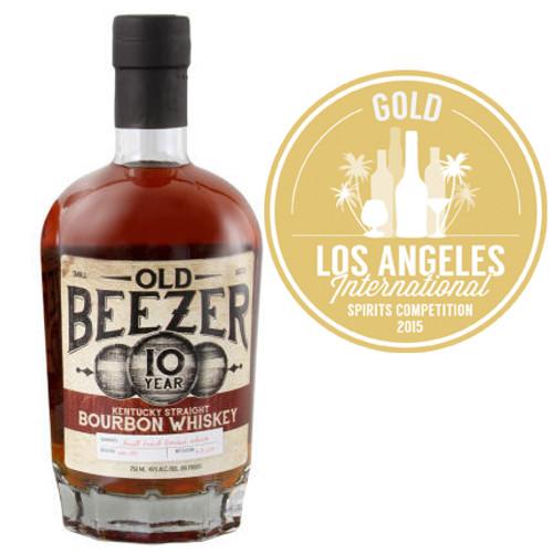 Old Beezer 10 Year Old Kentucky Straight Bourbon Whiskey 750ml