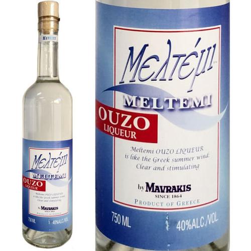 Meltemi Ouzo Greek Liqueur 750ml