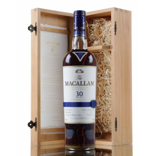 Macallan 30 Year Old Sherry Oak Single Malt Scotch 750ml