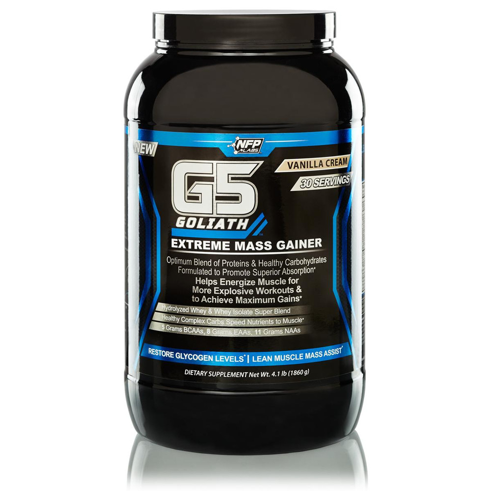 G5 Goliath - Mass Gainer - Lean Muscle Gainer