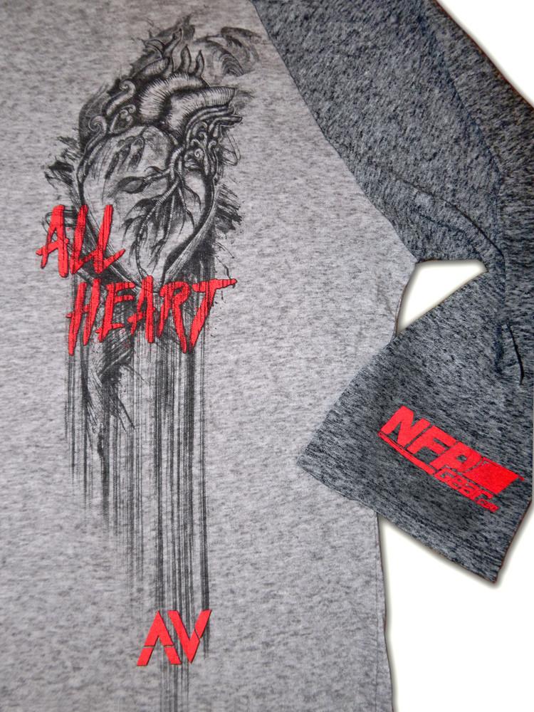 NFP All Heart - 3/4 Sleeve Raglan
