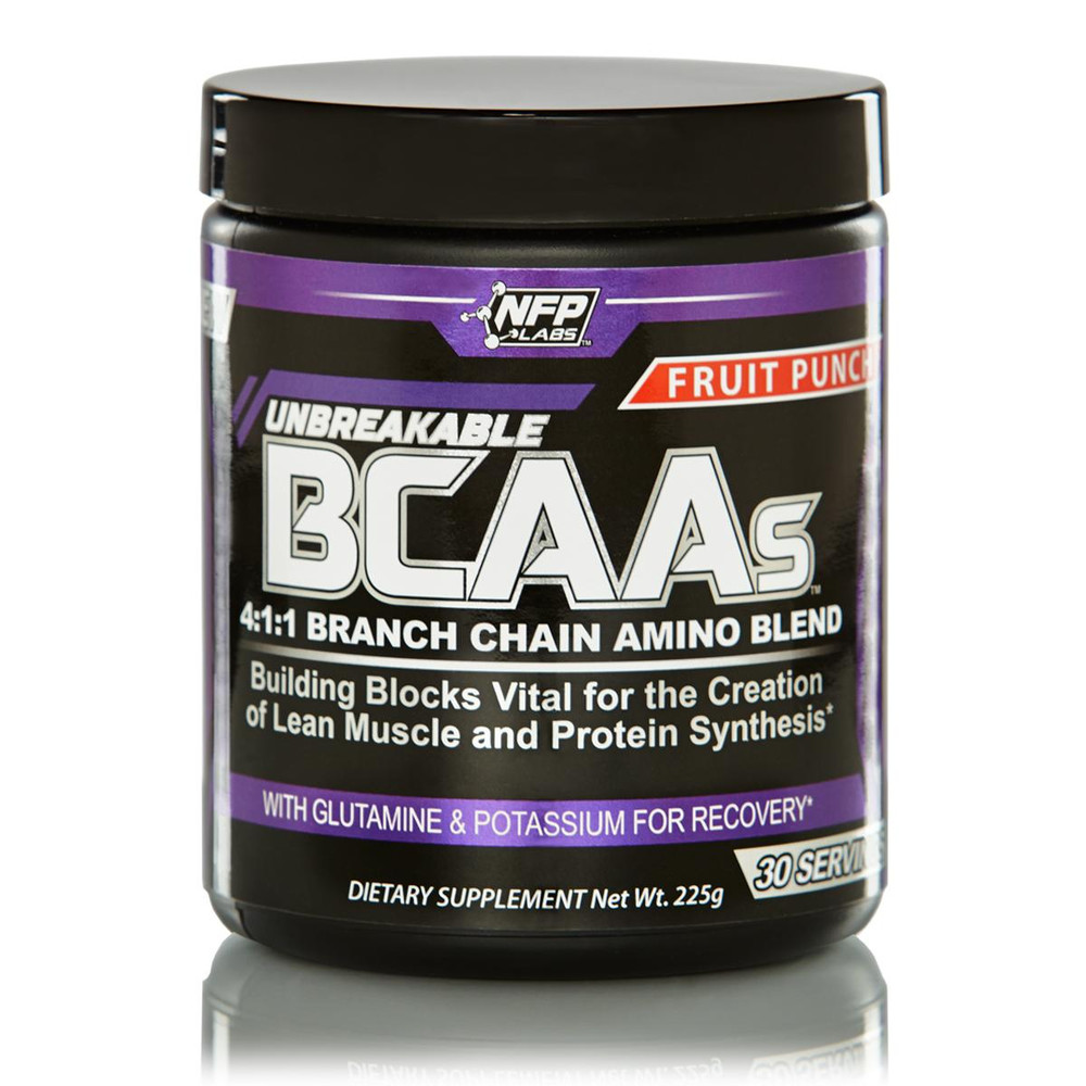 Unbreakable BCAAs 4:1:1 - Branch Chain Amino Acid Blend