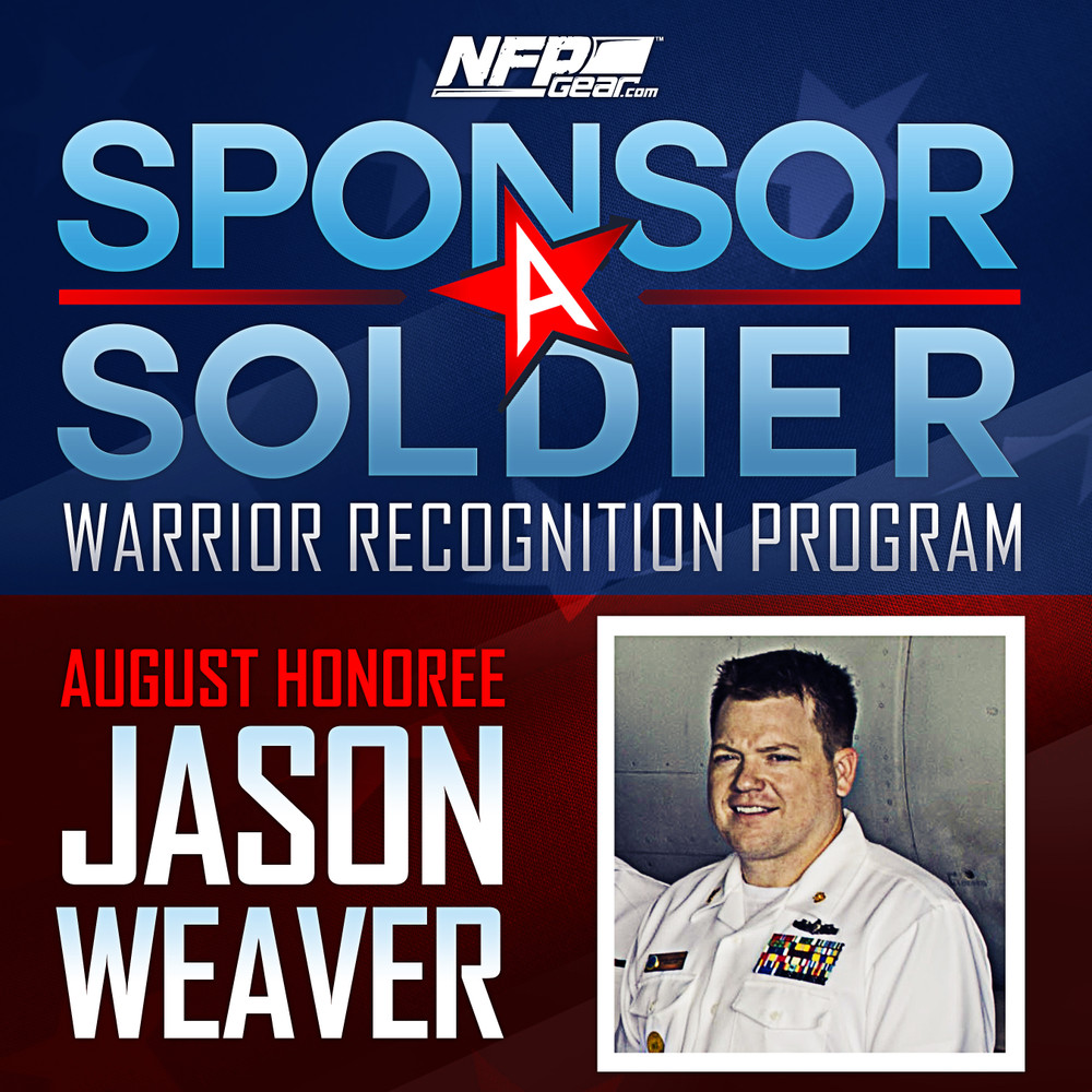 SPONSOR A SOLDIER WARRIOR RECOGNITION: Navy Chief Petty Officer Jason Weaver