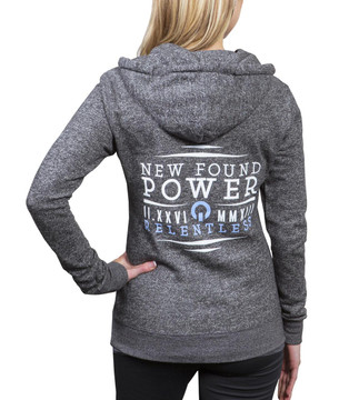 NFP Fitted Relentless Hoodie - Full Zip - Back