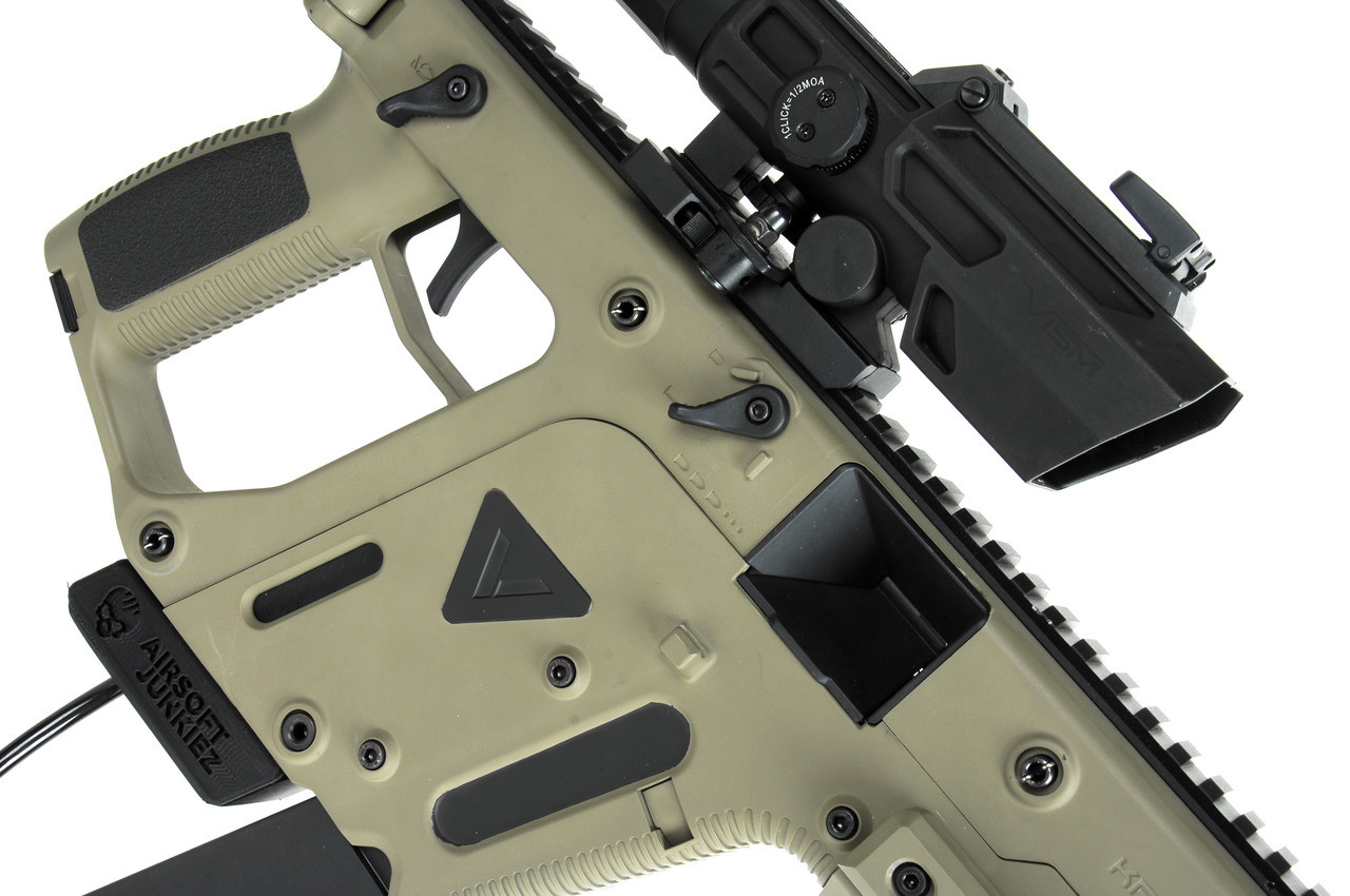 Kriss Vector with PolarStar F2 -- Cerkote Tan