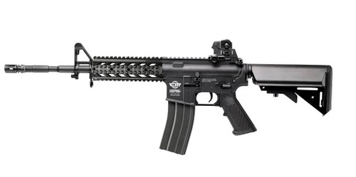 G&G Combat Machine CM16 Raider L AEG Rifle (Black)