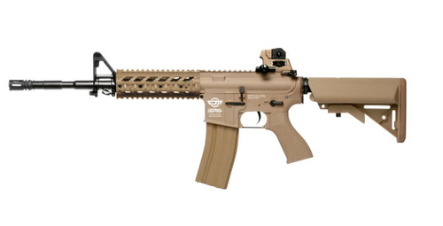G&G Combat Machine CM16 Raider L AEG Rifle (Desert Tan)