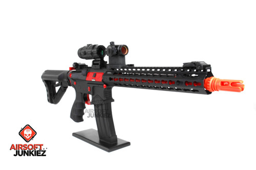 G&G CM16 SR XL RED Airsoft AEG Rifle - Limited Edition