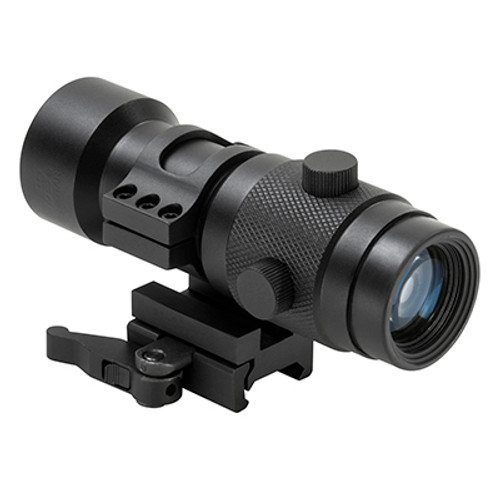 NC Star 3X Magnifier with  w/Flip to Side QR Mount