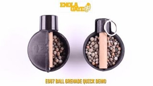 Enola Gaye EG67 Pea Grenade (ring pull) Event pickup or field delivery only