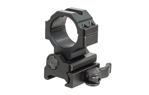 UTG 30mm Flip-to-Side, Picatinny/Weaver QD Ring Mount RG-MF30QS