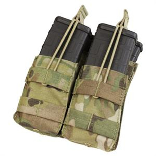 Tactical Molle Double M4 Mag Pouch - MC -- MA19-008