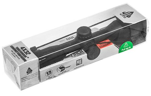 UTG 4x32 1in Compact CQB Riflescope True Hunter- SCP-U432M1
