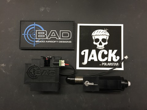 Bingo Airsoft Designs - PolarStar JACK TM MP7 Drop-in kit