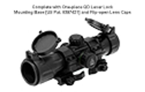 "UTG 6.4"" ITA Red/Green CQB T-Dot Sight with QD Mount Base - SCP-DS3068TDQ"